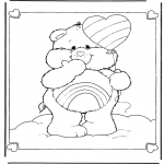 Kids coloring pages - The Care Bears 6