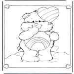 Kids coloring pages - The Care Bears 7