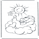 Kids coloring pages - The Care Bears 8
