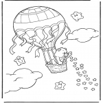 Kids coloring pages - The care bears 9