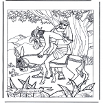 Bible coloring pages - The Good Samaritan 1