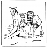 Bible coloring pages - The Good Samaritan 2