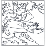 Bible coloring pages - The Good Samaritan 3
