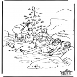 Bible coloring pages - The Good Samaritan 6
