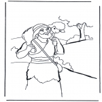 Bible coloring pages - The good shepherd 2