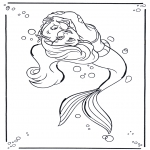 Comic Characters - The little Mermaid 1