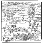 Bible coloring pages - The new earth 2