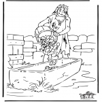 Bible coloring pages - The prodigal son 3