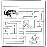 Crafts - Tweety labyrinth