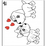 Theme coloring pages - Valentine's day 15
