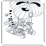 Theme coloring pages - Valentine's day 17