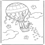 Theme coloring pages - Valentine's day 21