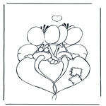 Theme coloring pages - Valentine's day 24