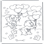 Theme coloring pages - Valentine's day 33