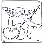 Theme coloring pages - Valentine's day 35