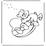 Theme coloring pages - Valentine's day 40