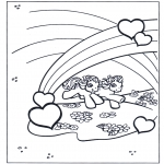 Theme coloring pages - Valentine's day 48