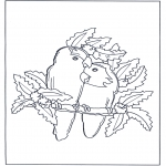 Theme coloring pages - Valentine's day 50
