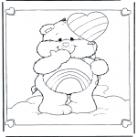 Theme coloring pages - Valentine's day 6