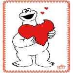 Theme coloring pages - Valentine's day 65