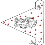 Theme coloring pages - Valentine's day 67