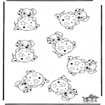 Crafts - Whichone is different 101 Dalmatians