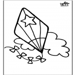 Crafts - Window color Kite