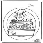 Crafts - Windowpicture baker