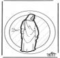 Windowpicture Jesus