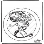 Crafts - Windowpicture Winx 1