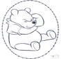 Winnie the Pooh stitchingcard 1
