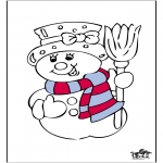 Winter coloring pages - Winter 16
