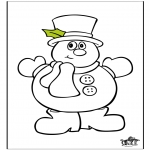 Winter coloring pages - Winter 17