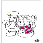 Winter coloring pages - Winter 18