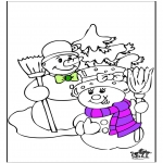 Winter coloring pages - Winter 19