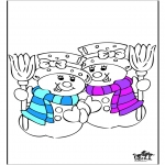 Winter coloring pages - Winter 20