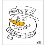 Winter coloring pages - Winter 21
