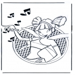 Comic Characters - Winx club 3