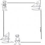 Crafts - Writing paper child