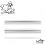Crafts - Writing paper Winx