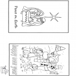 Christmas coloring pages - X-mas and New Year 2