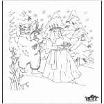 Christmas coloring pages - X-mas coloringpage 5