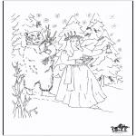 Christmas coloring pages - X-mas coloringpage 5