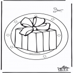 Christmas coloring pages - Xmas windowpicture 5