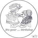 Theme coloring pages - You're ... birthday