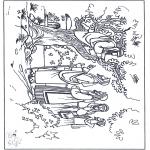 Bible coloring pages - Zacchaeus