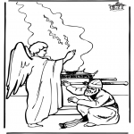 Bible coloring pages - Zacharias